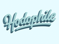 The 100 Day Project: Hodophile