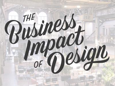 Business Impact of Design