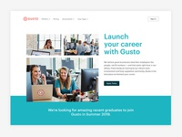 Launch your career with Gusto 🎓