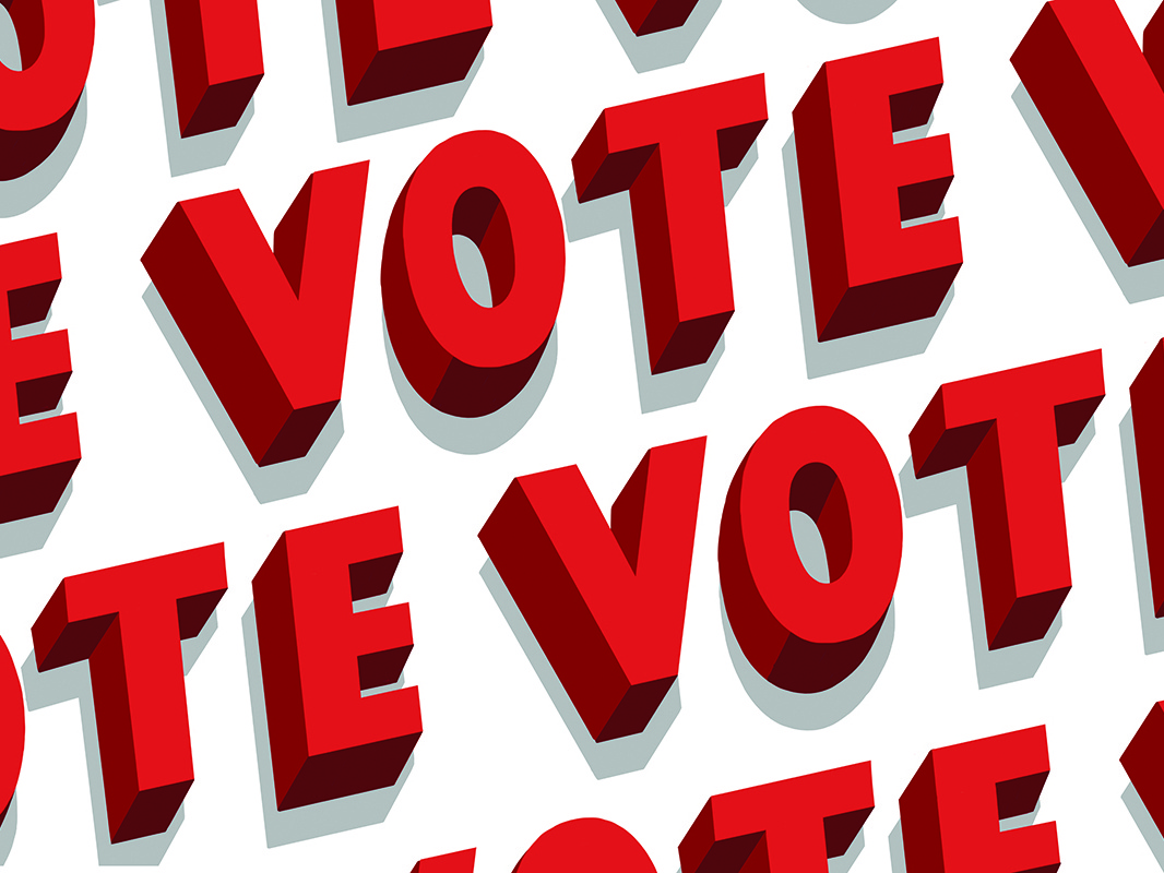 Vote! design daily type handdrawntype type hand-drawn typography letterer typography lettering election vote