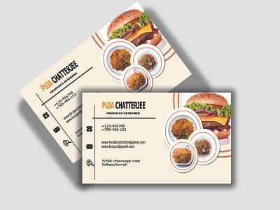 food business card illustration art illustration illustrator