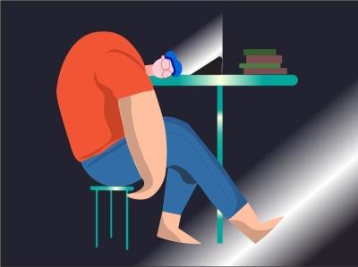 sleeping boy illustrations illustraion illistrator illustrator illustration art