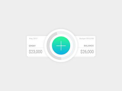 Wallet App widget wallet money wip ui app
