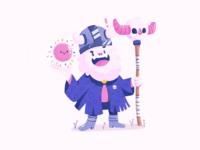 Wizard Yeti