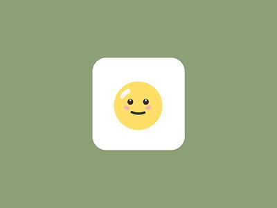 Egg-Icon for App icon app icon day5 dailyui 005 dailyui