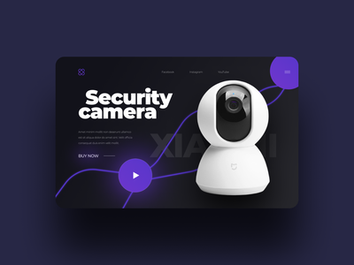 Landing for Security Camera