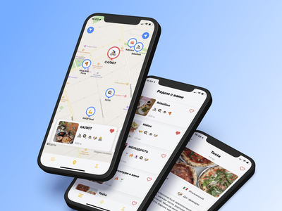 Foody Guide App moscow food delivery cafe guide restaurant foody