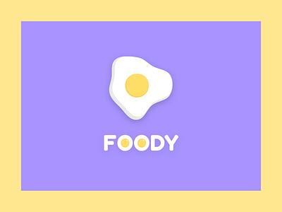 Egg logo clay foody food food logo logo egg