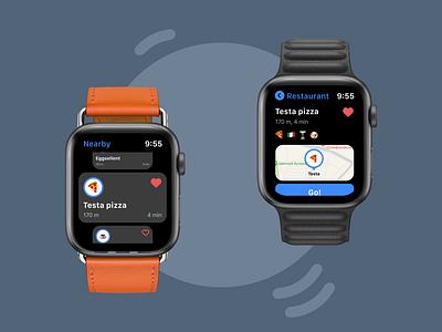 Foody App for Apple Watch foody apple ui kit apple watch watch os