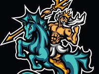 Poseidon riding hipocampus