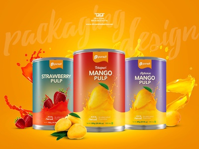 Pulp Product Packaging Design product creative pulp fruit design packaging