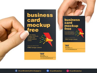 PSD Free Vertical Business Card Mockup Download visiting card business card horizontal business card vertical business card