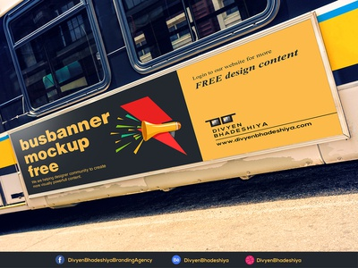 PSD Free Bus Banner Download psd download free psd free bus banner