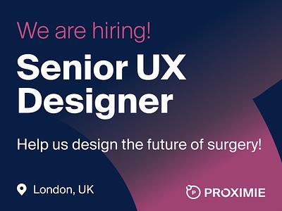 Senior UX Designer