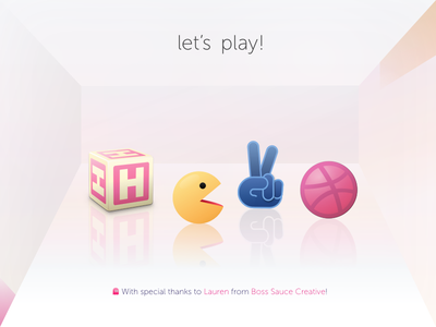 Hello! Let's play! illustration play time first shot hello debut