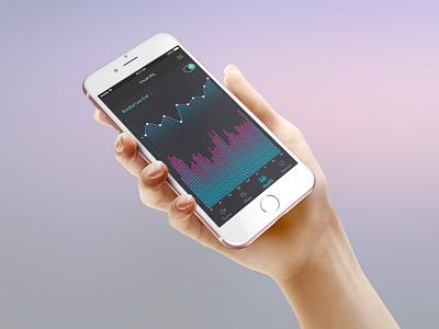 Boostr App ux ui mobile ios sound app sound manager