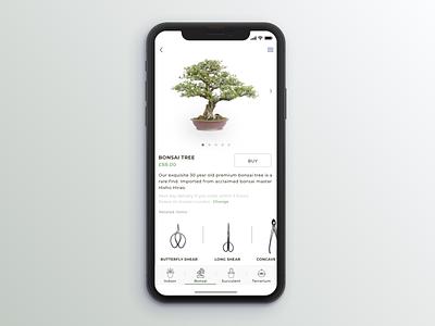 Verda Product Page shop logo plants ecommerce