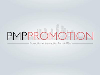 PMP Promotion Logo Real Estate estate real logo promotion pmp