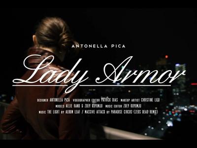 Lady Armor Title Card