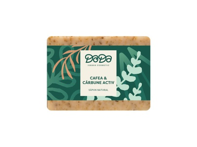 Doda packaging natural leaf plant herbalist beauty soap packaging