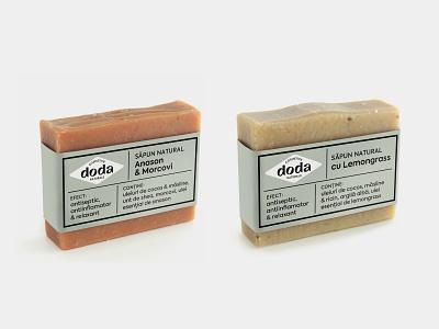 Doda Natural Cosmetics - packaging label plants herbal beauty products natural cosmetics packaging soap