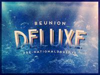 Reunion Deluxe Poster Closeup