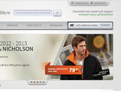 eCommerce with style webdesign web design design web orange grey e-commerce shop