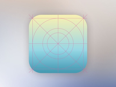 New Ios7 Look Icon Design Grid Template - PSD attached icon mockup ios7 mockup mockup ios7 icon design grid icons psd photoshop free psd icon design iphone icon ios icon icon grid