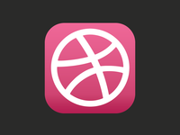 Dribbble Ios7 Icon