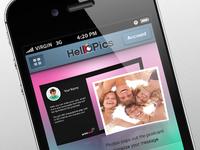 Iphone app design proposal