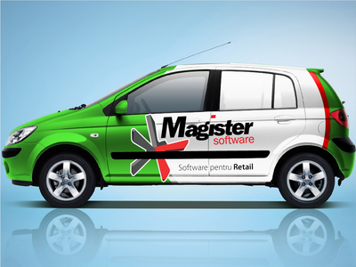 Magister Car Branding car wrapping branding decal decals