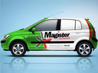 Magister Car Branding