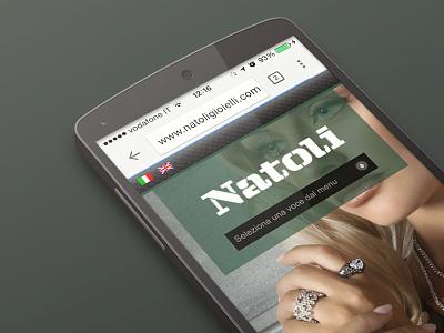 Natoli Gioielli mobile web gioielli