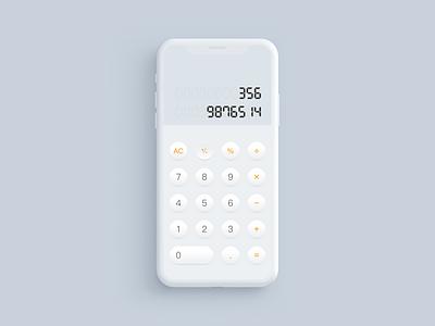 Calculator calculator app ux ui calculator