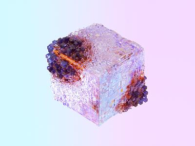 Cube art design 3d art