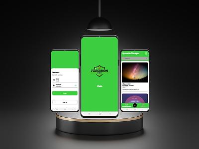 Photo sharing App website web design photo sharing mobile app prototype ux ui design