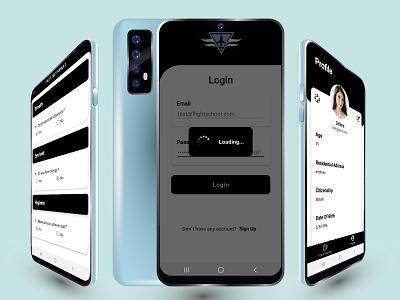 GoPilot saas android app mobile app design prototype ux ui design