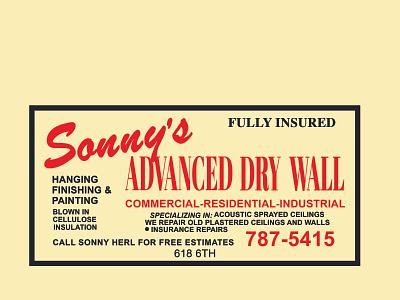 Sonny card logo illustration art branding vector illustration illustrator design