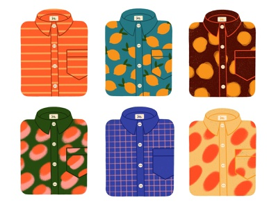 Shirts illustration pattern design lemmon dress shirt clothing patterns shirt illustration shirt design pattern