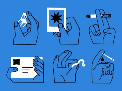🤙🤞👌 spot illustration black and white illustration squiggly line ui illustration needle chair picture product illustration app illustration branding illustration line illustration worm mail smoke hands