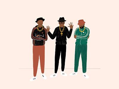 Run Dmc adidas music singers rap hiphop rundmc