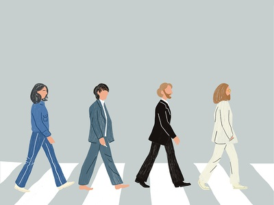 The Beatles lennon ringo album abbey road music beatles