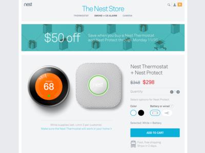 Nest Bundle Product Page