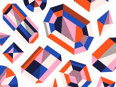 More diamonds 💎 color colour pattern diamonds
