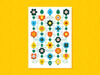 Blooms alphabet