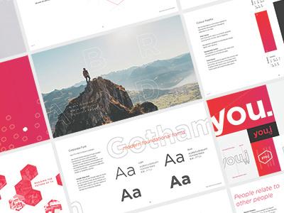 You.i TV Brand guideline colours font tv ottawa design branding brandguide ux ui