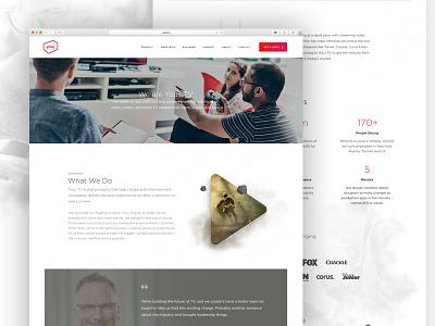Update About Page digital ottawa ux ui tv web design website