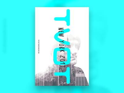 TVOT tv tradeshow show event branding poster poster design
