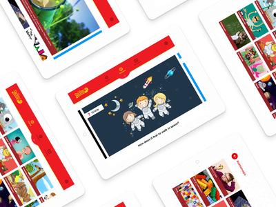 DaVinci Learning App for kids ottawa design learning tablet kids ux ui app