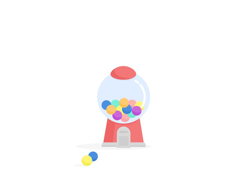 Gumball Machine just for fun illustration